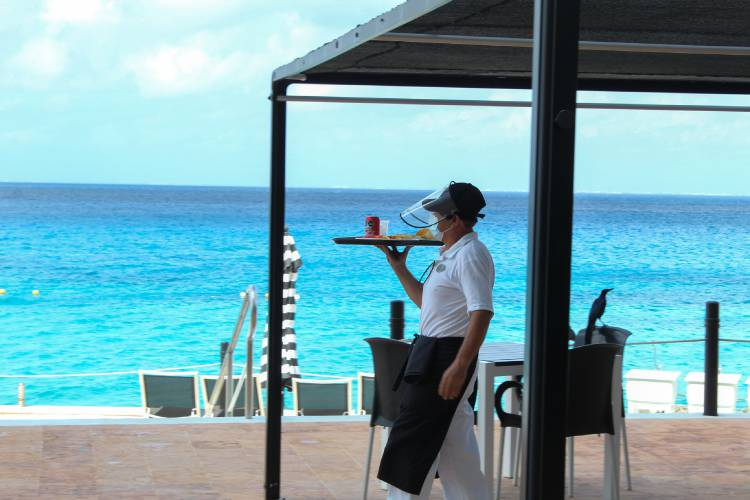 Bar coral princess golf & dive resort hotel cozumel