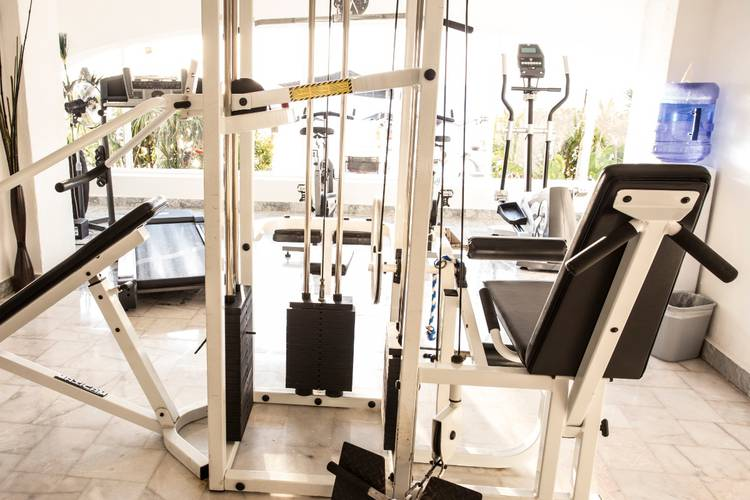 Gym coral princess golf & dive resort hotel cozumel
