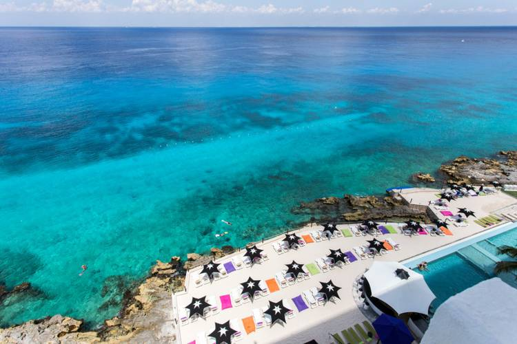 Panoramic view coral princess golf & dive resort hotel cozumel